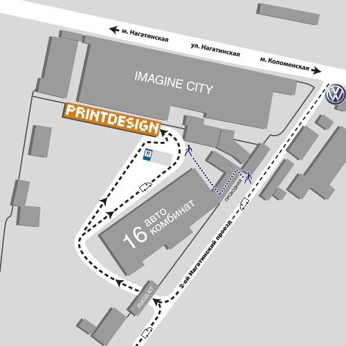 Схема проезда на участок CtP.  Нажмите для увеличения размера изображения.